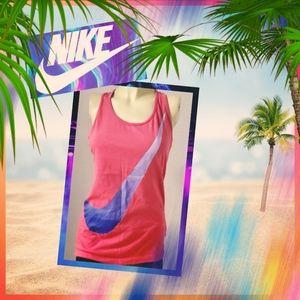 Nike Slim Fit Racerback printed Tank